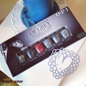 fifty shades of grey OPI Nagellack